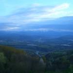Blick ins Tal von Castellino Tanaro