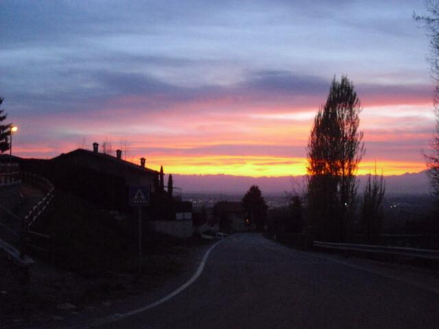 Sonnenuntergang in Briaglia