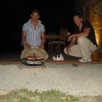 Unser erstes BBQ in Castellino