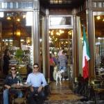 Eines der berühmten turiner Kaffeehäuser