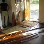 Treppenbau im Piemont