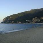 Der Strand von Noli