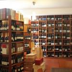 Reichlich Weinauswahl in der Chiocciola
