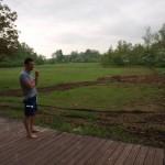 Poolbau im Piemont