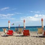 Am Strand von Varigotti