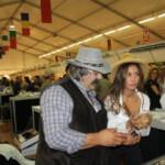 Albas Trüffelkönigin 2013 und Papa Bosco