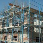 Die Säulenstruktur entsteht - Winter 2009