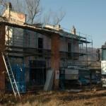 Baubeginn im Februar 2009