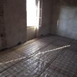 Es soll komfortabel werden - der zweite Teil bekommt Fußbodenheizung