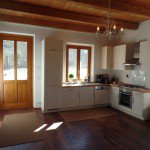 Wohnküche Haupthaus Casa al Tanaro