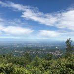 Ausblick vom AVML bis aufs ligurische Meer