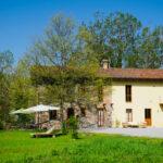 Seitenansicht Ferienhaus Piemont