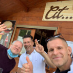 Kleine Pause im Cit ma Bel, Bastia Mondovì