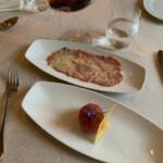 Carne cruda & carpaccio di manzo