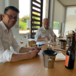 Zur Weinprobe bei Mario Marengo, La Morra