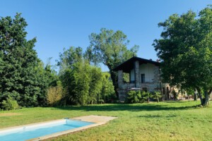 Ferienhaus Piemont mit Garten und Pool