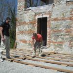 Terrassenbau im Südpiemont