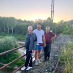 Guide, Andre und Nachbar Bernard
