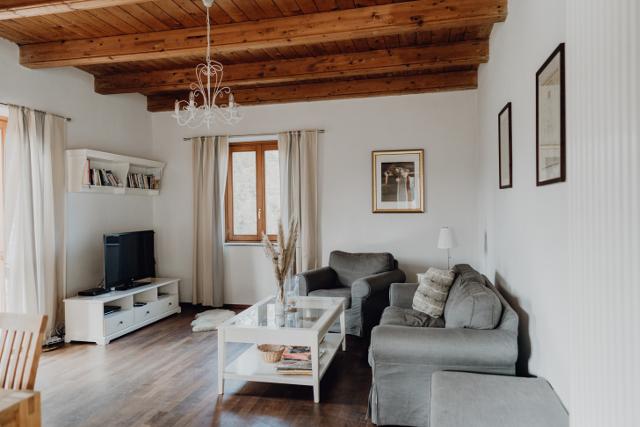 Hausteil 1 - Wohnzimmer Ferienhaus